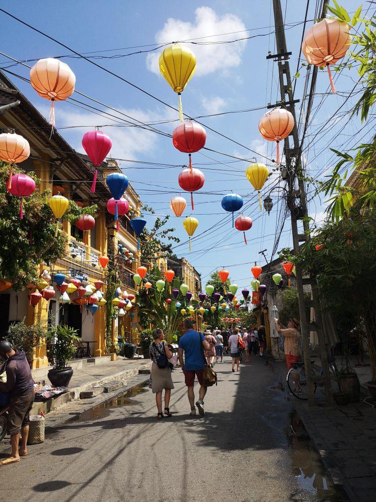 Spacer po starym mieście w Hoi An