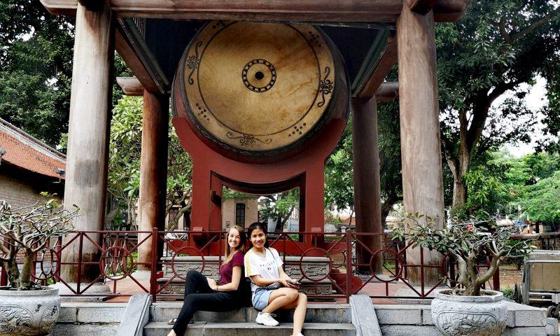 Wolontariat w Wietnamie - zwiedzanie miasta - Świątynia Literatury w Hanoi, Wietnam.