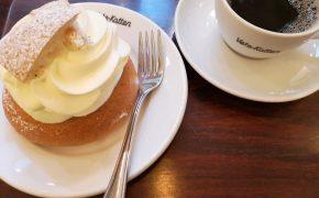 Szwedzka Fika - przerwa na kawę i Semlę w Sztokholmie. Restauracja Vate-Katten.