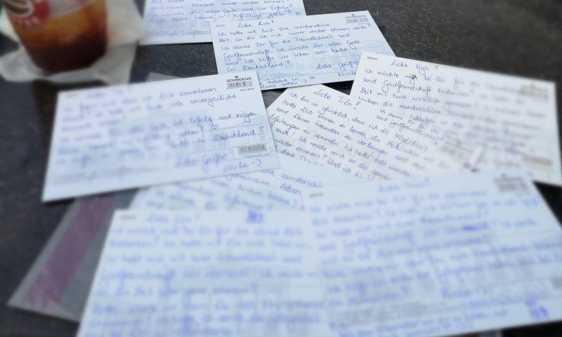 Wolontariat zagraniczny - Wolontariat w Hanoi i pocztówki z Niemiec dla nowych przyjaciół.