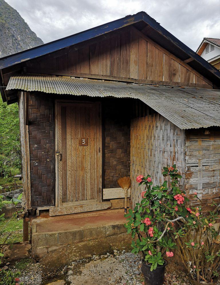 Zakwaterowanie w Laosie: Bungalow w Nong Khiaw