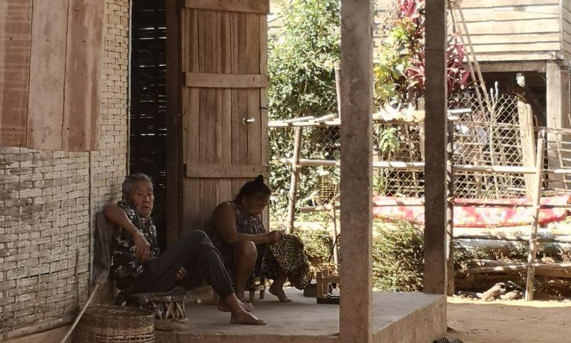Okolice Nong Khiaw w Laosie: życie mieszkańców Laosu