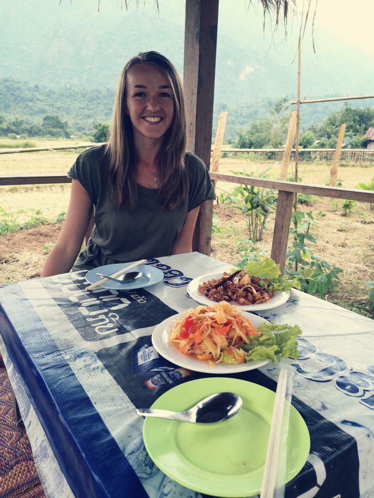 Smaki Laosu: Restauracja w Vang Vieng