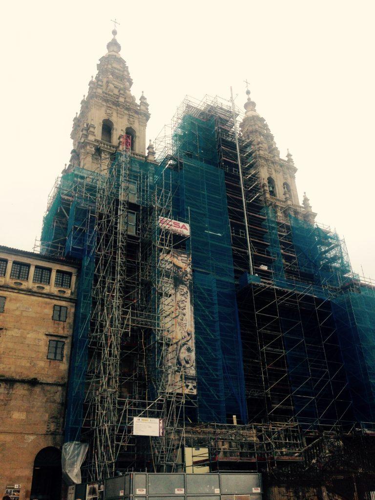 Katedra w Santiago de Compostela. Remont Katedry