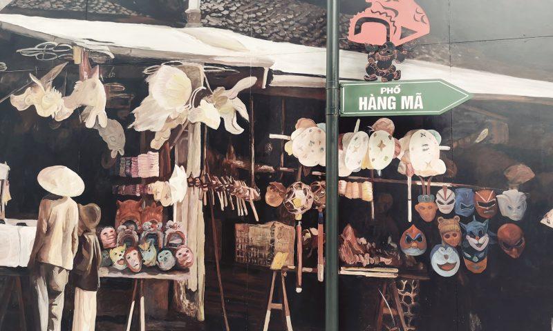 Atrakcje Hanoi - Street Art in Hanoi - Mural w Hanoi - Choi Lak Won