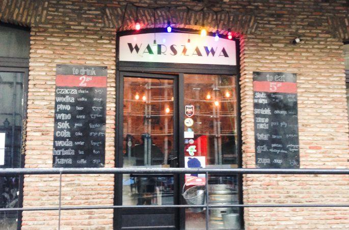 Puby i bary w Tbilisi - Pub Warszawa w Gruzji