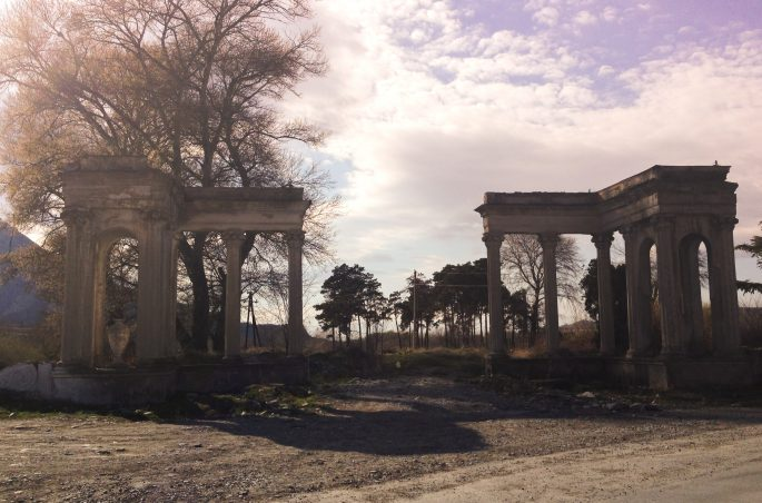 Gori w Gruzji - ruiny