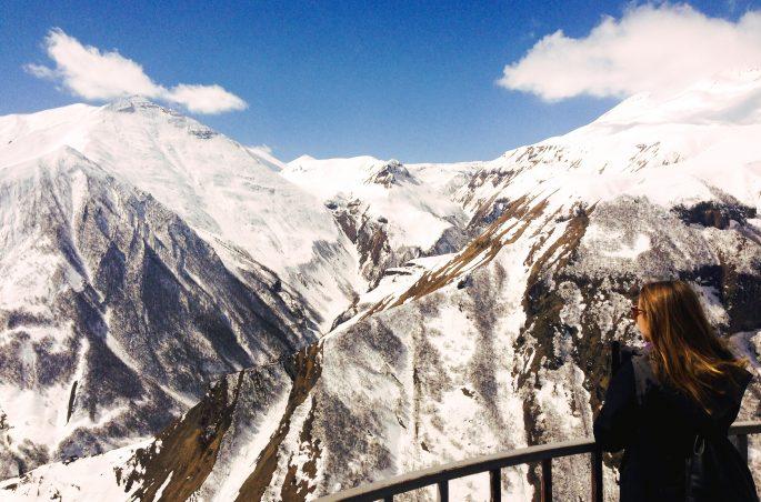 Największe atrakcje Gruzji - Kazbek