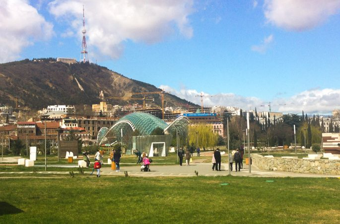 Tbilisi - stolica Gruzji