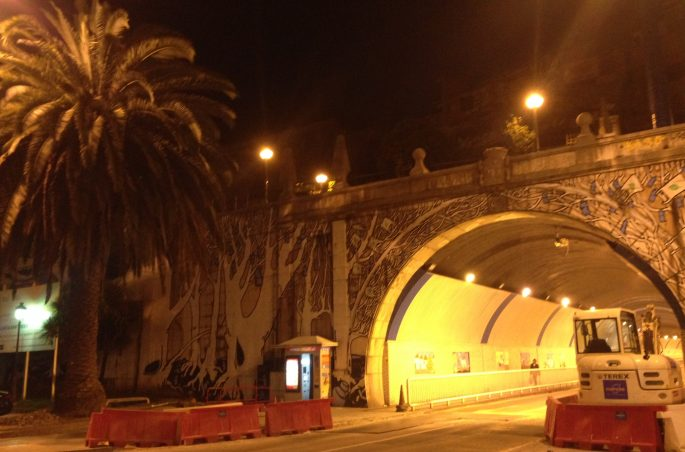 Santander nocą