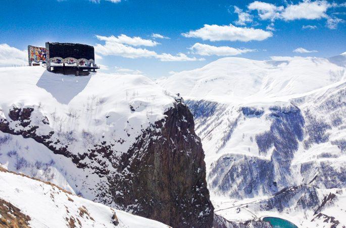 Kaukaz: Stepancminda - Kazbegi