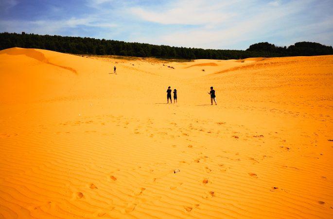 Czerwone wydmy w Mui Ne (Wietnam) - Red Sand Dunes in Mui Ne