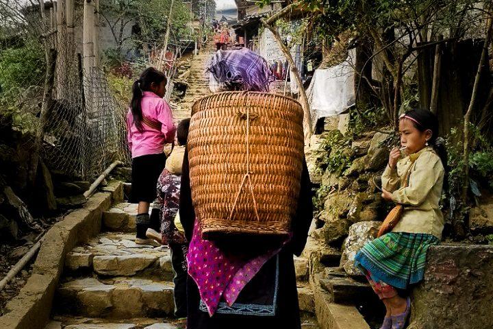 Sapa - co zobaczyć? Mniejszość etniczna Wietnamu - Hmong