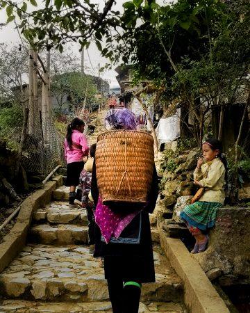 Cat Cat Village na własną rękę - mniejszość etniczna Hmong
