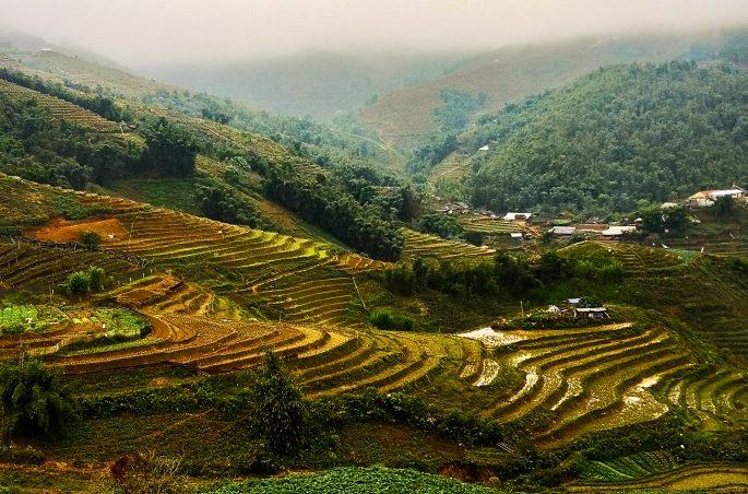 Sa Pa (Wietnam) w listopadzie - czy warto? Pogoda w Sa Pa - tarasy ryżowe
