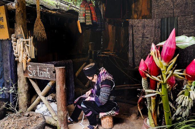 Cat Cat Village - trekking w Sa Pa w Wietnamie - Mniejszość etniczna Hmong