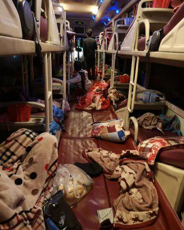 Sleeper bus w Wietnamie. Jak dojechać do Sapy?