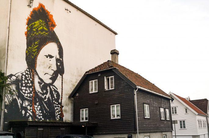 Norweski street art - Stavanger