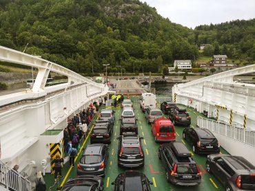 Prom z Stavanger do Tau