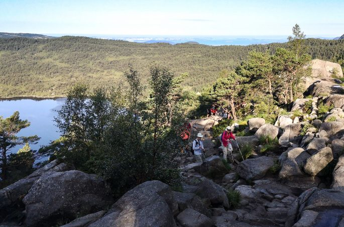 Szlak na Preikestolen - Trekking górski w Norwegii