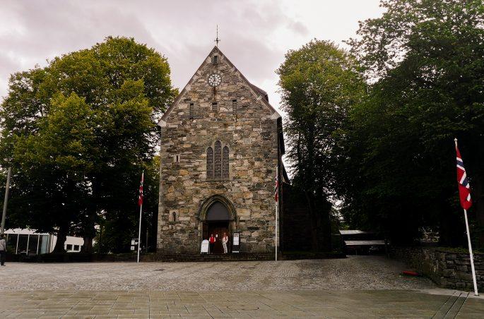 Co zobaczyć w Stavanger - Katedra w Stavanger. Cathedral in Stavanger
