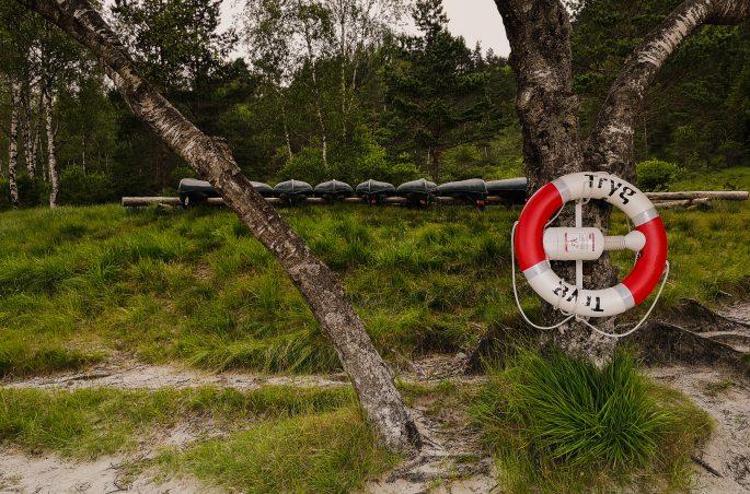 Kajaki w Norwegi - Okolice Preikestolen- Co zobaczyć w Norwegii? Wypożyczalnia kajaków w Preikestolen