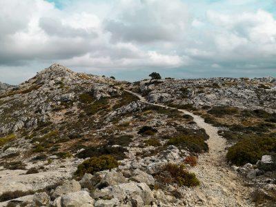 Ścieżka na szczyt Calagori (Valldemossa). Droga jeździecka Ludwig Salvador