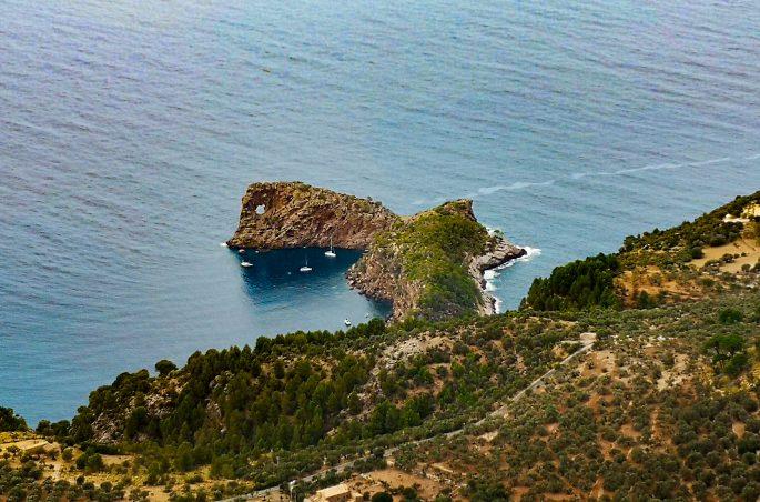 Co zobaczyć na Majorce - Majorka pieszo - Punta de sa foradada- Son Marroig. Wandern auf Mallorca