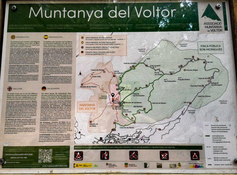 Trekking na Majorce- pieszo po Majorce. Szlak z Valldemossa na Calagori - Trekking in Majorca