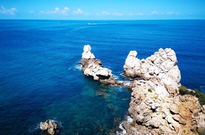 Zatoka Cala de Deia - Trekking po Majorce