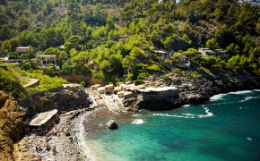 Plaża Cala de Deia - Playa Deia Majorka- die schönste Strände Mallorca