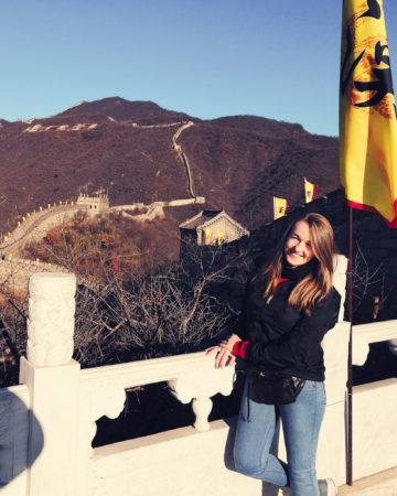 Viola and the World na Wielkim Murze Chińskim - Pekin w 15 godzin