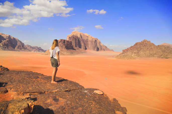 Pustynia Wadi Rum - Wadi Rum Desert - Jordania i Izrael - plan i kosztorys. Viola and the World