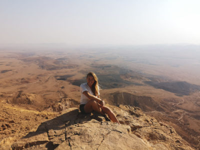 Mitzpe Ramon w Izraelu i Viola and the World - blog podróżniczy - Travelblogger