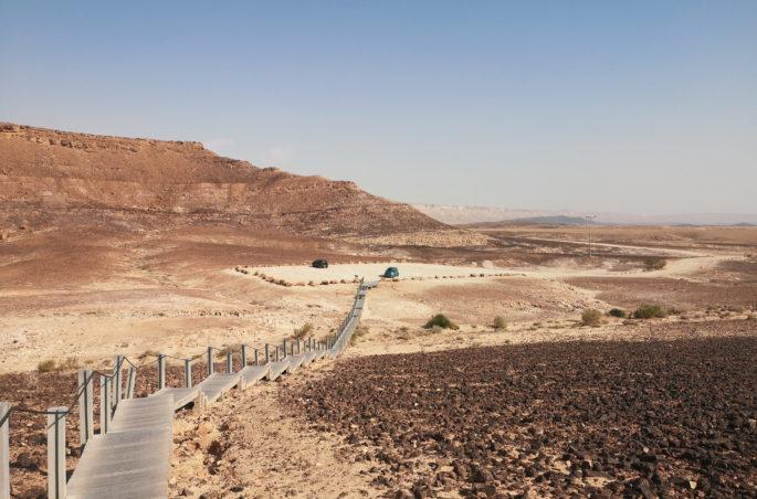 Atrakcje w Izraelu - Carpentry - Desert Negev