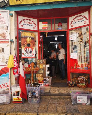 Sklep dla Polaków w Betlejem. Gdzie zrobić zakupy w Izraelu? Shopping in Israel