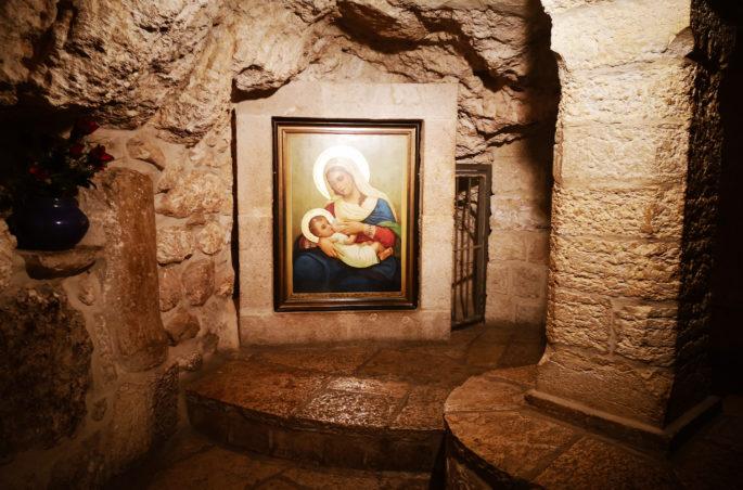 Co zobaczyć w Betlejem? Grota Mleczna w Betlejem. Milk Grotto in Bethlehem
