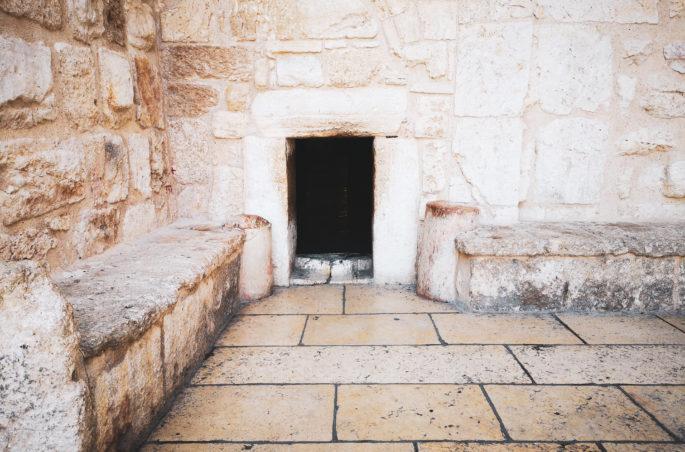 Co zobaczyć w Betlejem? Bazylika Narodzenia Pańskiego - stajenka Jezusa. Wejście do Bazyliki. Israel-Bethlehem