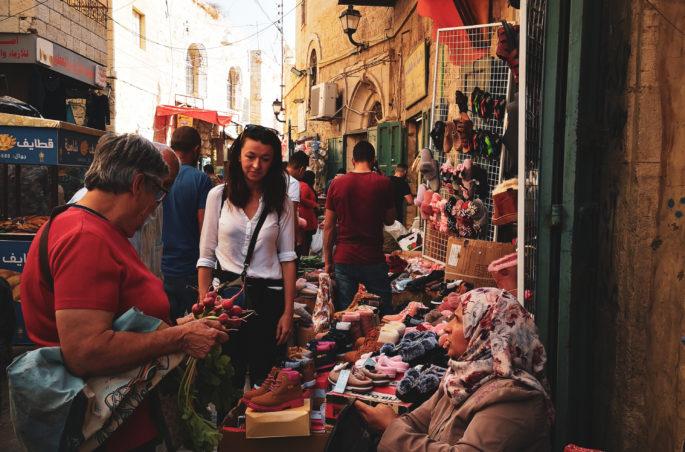 Co zobaczyć w Betlejem? Targ w Betlejem. Bethlehem in Israel - plan i kosztorys