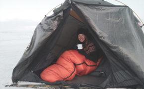 Wypad na Islandię pod namiot. Islandia w zimie. Viola and the World
