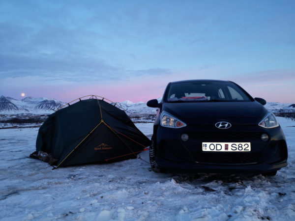 Co spakować na Islandię? Co spakować pod namiot zimą? Sprzęt turystyczny