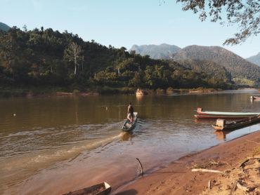 Laos - nieznane wioski Nong Khiaw 2. Co zobaczyć w Laosie? Rzeka Mekong. Mekong river