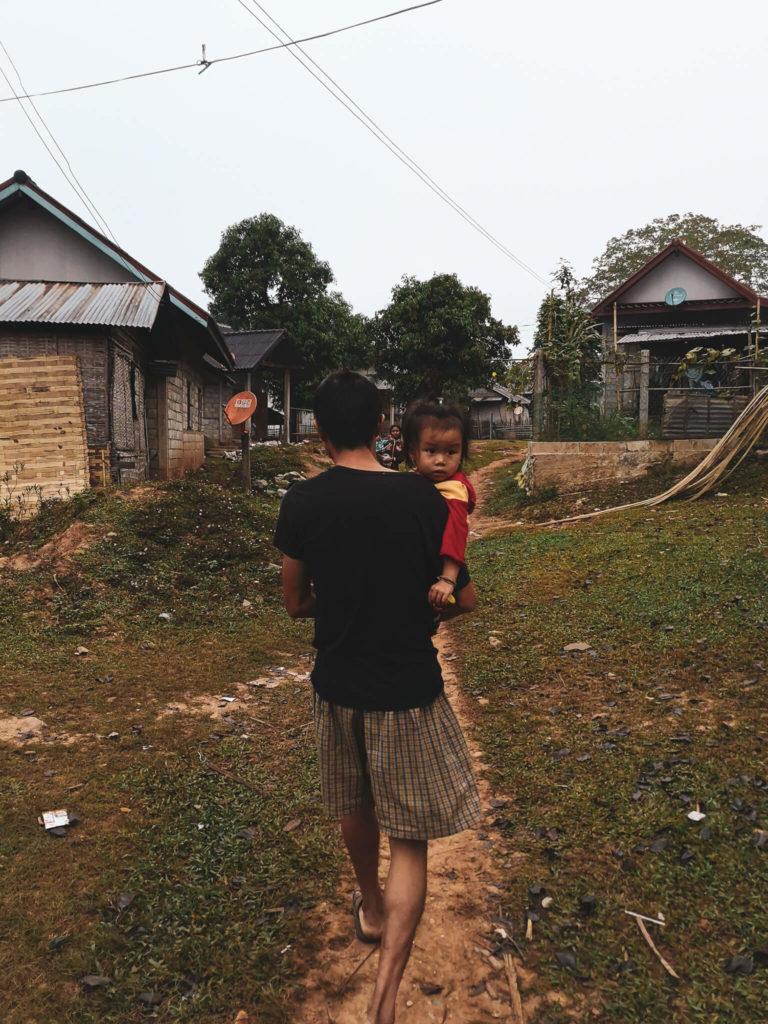 Nong Khiaw i okolice. Laoatńczycy. Lao people