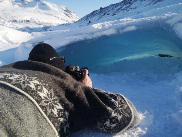 Największy lodowiec Islandii Vatnajökull. Najpiękniejsze zimowe atrakcje Islandii. Islandia w marcu