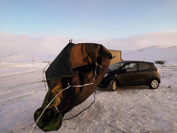 Spanie na dziko na Islandii. Spanie w namiocie na Islandii -relacja z wyprawy pod namiot